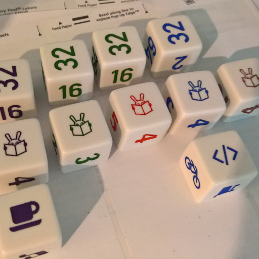 Example of a custom die